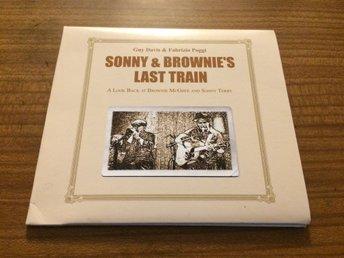 GUY DAVIS & FABRIZIO POGGI Sonny & Brownie s Last Train Digipak CD USA Import - Tyringe - GUY DAVIS & FABRIZIO POGGI Sonny & Brownie s Last Train Digipak CD USA Import - Tyringe