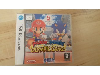 Mario and sonic at the OLYMPIC GAMES DS NYSKICK+manual