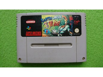 Earthworm Jim Super Nintendo Snes