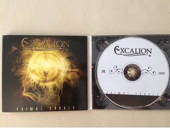 "EXCALION "" PRIMAL EXHALE"", CD ALBUM, PORTUGAL 2005, POWER METAL!"