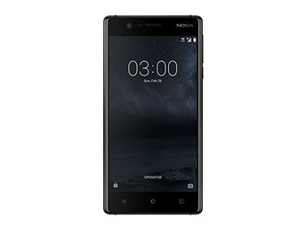 Nokia 3 16GB Android Single-SIM Factory Låst 4G / LTE Smartphone