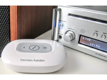Harman Kardon Adapt - HD Audio Bluetoothmottagare, vit, white