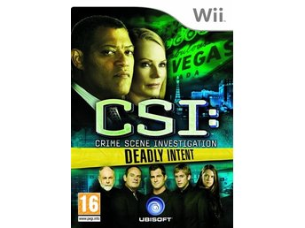 CSI - Deadly Intent Nintendo Wii