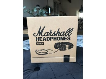 Marshall Headphones model Major. Svarta i obruten förpackning! Nypris 799:-