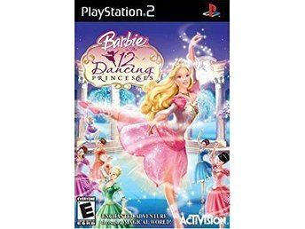 Playstation 2 Spel - Activision - Barbie in The 12 Dancing Princesses