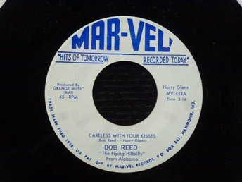 BOB REED - Choctaw boogie/Careless with your kisses  Mar-vel USA