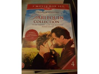 Dvd-box: Harlequin Collection 4, nyskick, romantik, drama