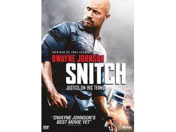 SNITCH  UTGÅTT  DWAYNE  JOHNSON THE ROCK