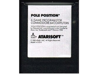 POLE POSITION C64 CARTRIDGE