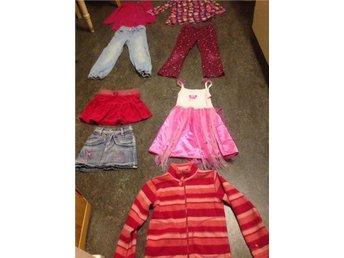 Tjej klädpaket stl.110-116 - Gävle - Tjej klädpaket stl.110-116 - Gävle