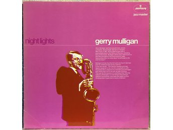 Gerry Mulligan/ NIGHT LIGHTS - J. Hall, Brookmeyer, Farmer NM vinyl