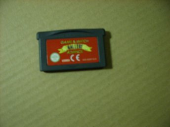 Gameboy advance spel.