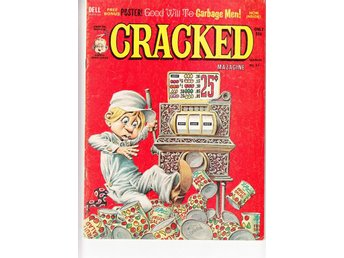 Cracked Magazine nr 91 (1971)  / VG+ / bra lässkick
