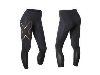 2XU Compression Tights Guld stl S Dam