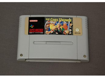 The Lost Vikings *Engelsk text* SNES Super Nintendo