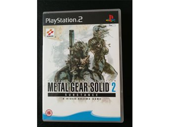 Metal Gear Solid 2: Substance (PS2) Nyskick!