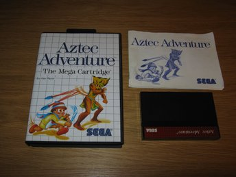 SEGA MS/PAL: Aztec Adventure (komplett)