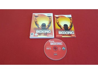 SHOWTIME CHAMPIONSHIP BOXING till Nintendo Wii