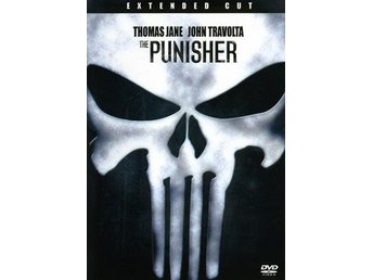 The Punisher '04 (Extended cut 2-disc) - KANONSKICK - John Travolta - OOP