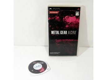 Metal Gear Acid PSP playstation portable