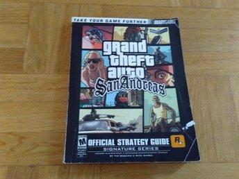 Javascript är inaktiverat. - Nacka - Official Strategy Guide till Grand Theft Auto: San Andreas (PS2-versionen, men den är förmodligen relevant även för övriga versioner). Bruksskick, bra skick på insidan. Spelet i sig medföljer ej. -- Samfrakt: Köper du flera objekt (annonse - Nacka