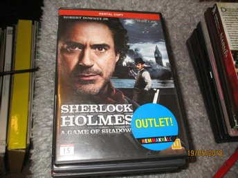SHERLOCK HOLMES - A GAME OF SHADOWS - DVD