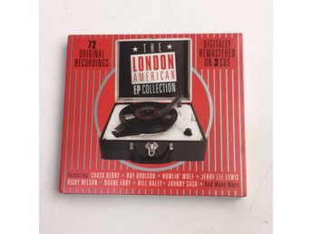 CD-Skivor, The London American EP collection, Strl: 3 st, Röd/Svart