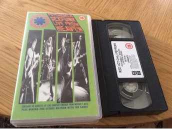 Red hot Chilipeppers Live from Heaven VHS