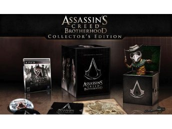 Assassins Creed Brotherhood Collectors Edition PS3 spel RARE !!!