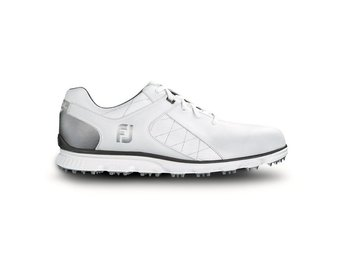 Footjoy Pro S/L spikeless herr wide - vit 46W