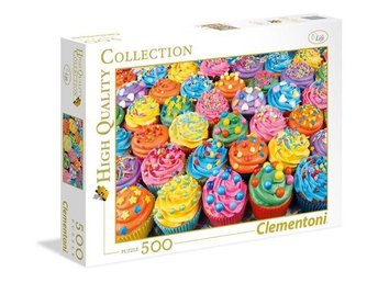 500 pcs. High Quality Collection COLORFUL CUPCAKES