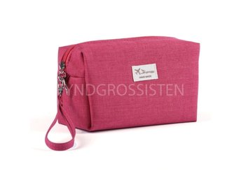 Cosmetic bag Organizer Hot Pink Fri Frakt Ny