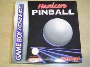 HARDCORE PINBALL NINTENDO GAMEBOY ADVANCE *NYTT*