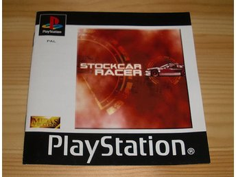 Manual PS: Stockcar Racer