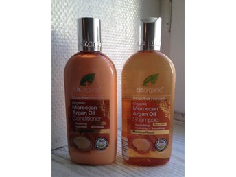 DR ORGANIC ARGAN OIL SHAMPOO + CONDITIONER