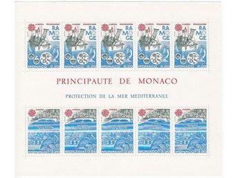 Monaco 1986. Mnr: Block nr 32 ** CEPT - Njurunda - Monaco 1986. Mnr: Block nr 32 ** CEPT - Njurunda