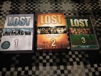 DVD BOX - Lost . Säsong  1, 2 & 3