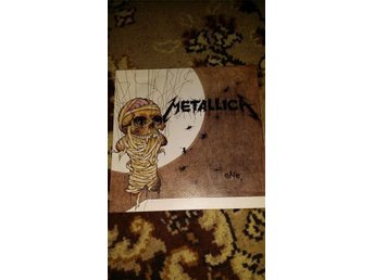Metallica One/Seek and destroy (live). Singel Vertigo/Phonogram 874 066-7