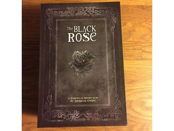 Agate THE BLACK ROSE Shadows of Esteren mystery game Kickstarter limited #14/600