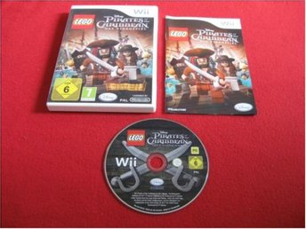 LEGO PIRATES OF THE CARIBBEAN till Nintendo Wii