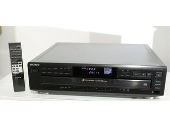 Sony CDP-CE405 Multi Compact Disc Player (1995)