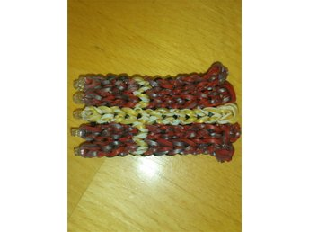 Flagga av Rainbow Loom band