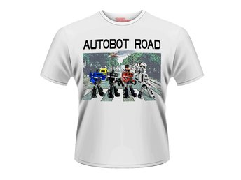 TRANSFORMERS- AUTOBOT ROAD T-shirt - Large