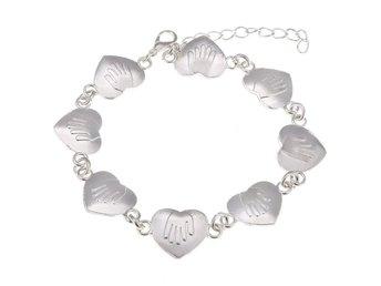 Armband brons kedja Peace vinge hjärta (284180991) ᐈ Sustra på Tradera 683c6b8d938cc