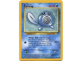 Pokémonkort: Poliwag 59/102 [Base Set]