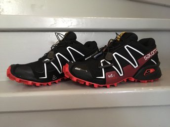 Salomon spikecross 3. Strl: 37 1/3