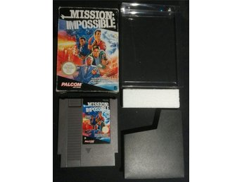 Mission Impossible - NES 8-bit SCN CB