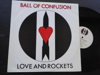 "LOVE AND ROCKETS - Ball of confusion 12"" Beggars Banq UK -85"