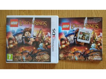 Nintendo 3DS: LEGO Lord of the Rings (svenskt)