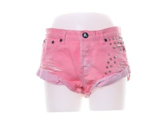 One Teaspoon, Jeansshorts, Strl: 25, Rosa